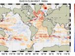 2002-2012 ISAS Ocean Heat Content Climatology (0-1500 m)
